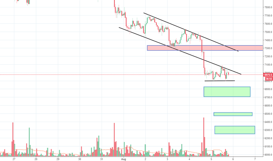 BTCUSD: Unstoppable Bitcoin got dumped big time