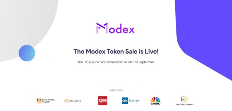 Last Chance to Contribute to Modex Tech ICO