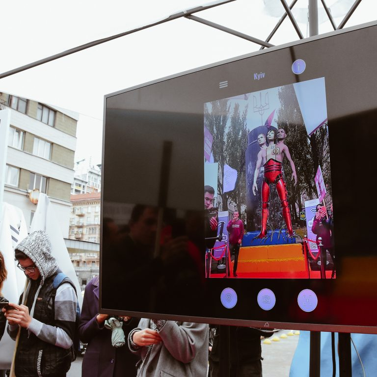 Virtual Satoshi Monument Erected in Kiev, Hollywood is Next