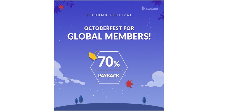 Bithumb to Hold Payback 70% of Transaction Fee for Overseas Users