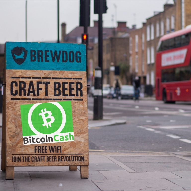 Brewdog Brand Welcomes Bitcoin Cash