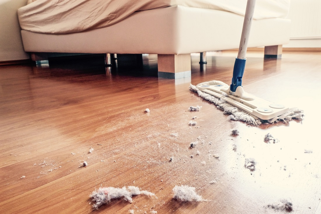 dusty floor