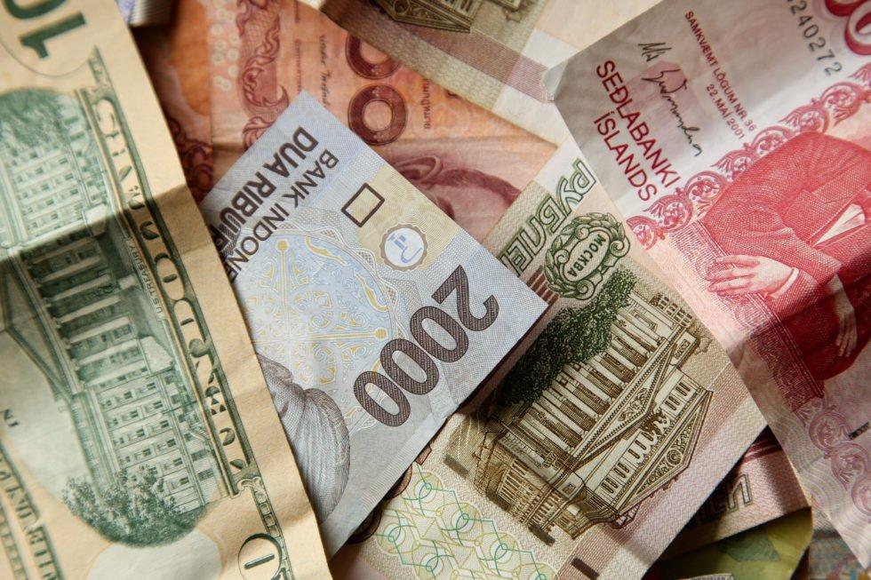 Global fiat currencies.