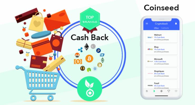 PR: Coinseed Announces Crypto Cash Back Program