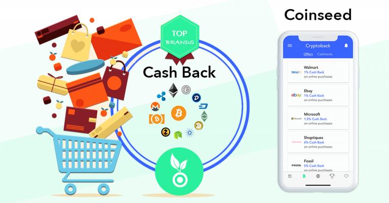 Coinseed Announces Crypto Cash Back Program
