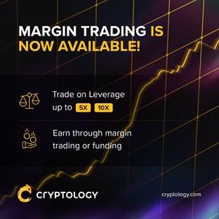 Cryptology offers margin trading