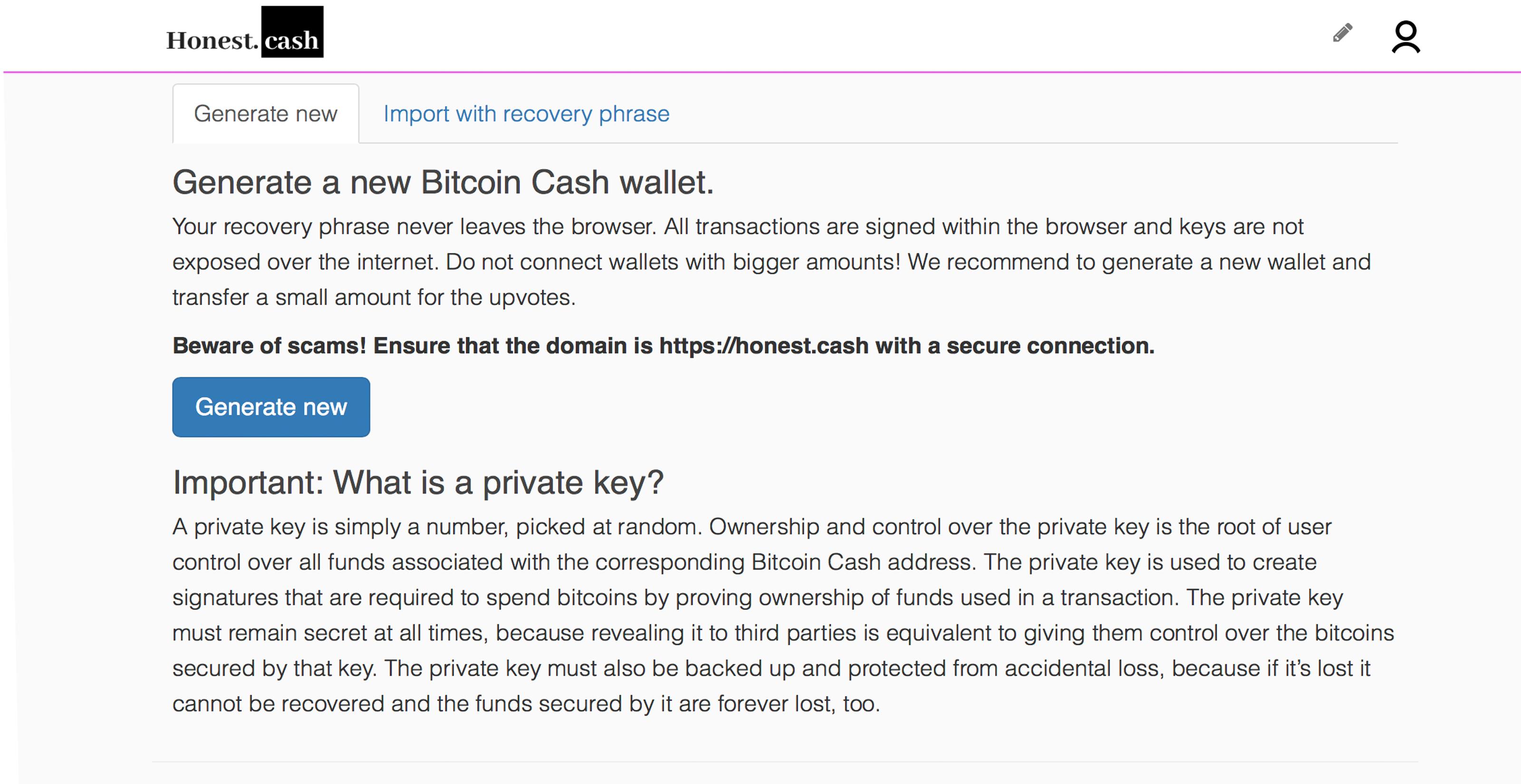 BCH App 'Honest Cash'が大幅な成長を見せ、ネイティブウォレットを追加