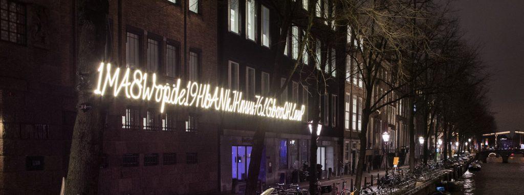 Bitcoin Addressがアムステルダムのライトフェスティバルを演出