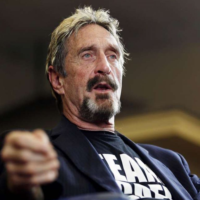 Presidential Candidate John McAfee Flees U.S. for Alleged Tax Fraud