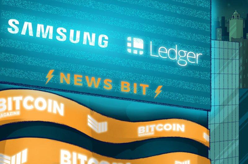 Samsung Ledger News Bit