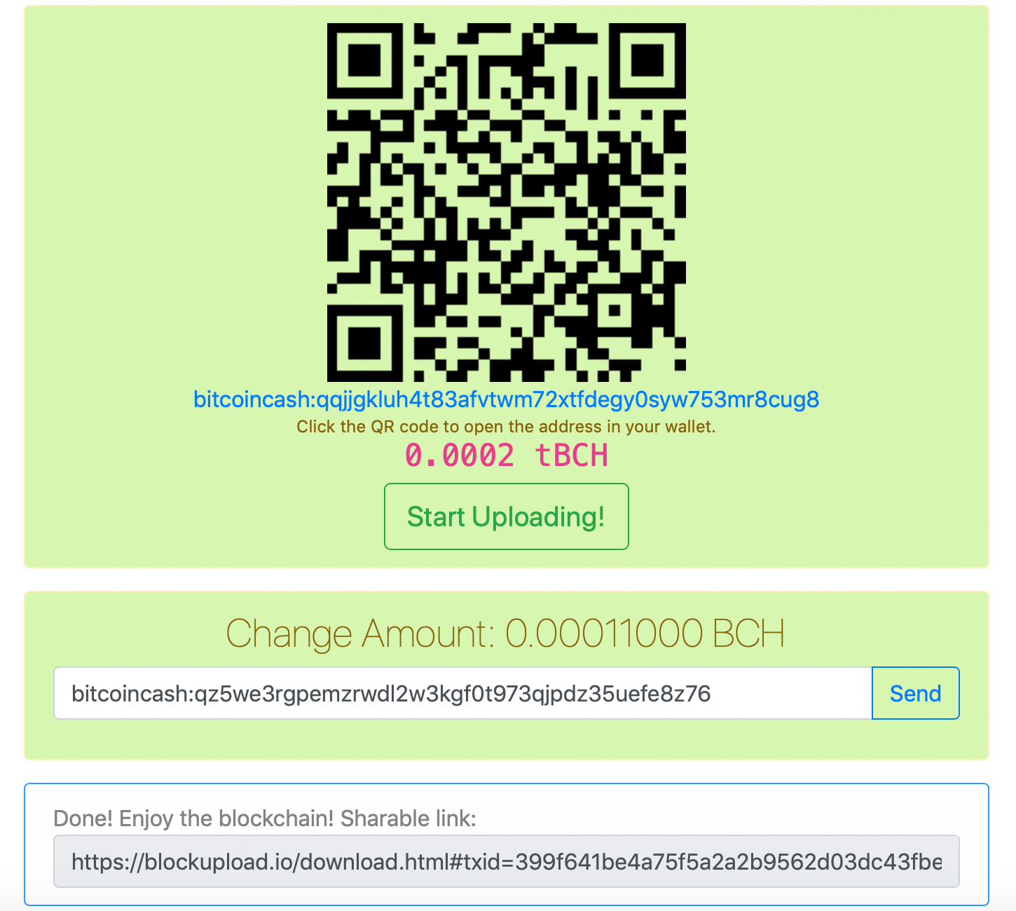 Embed 1MB Files on the Bitcoin Cash Chain With the Blockupload Platform