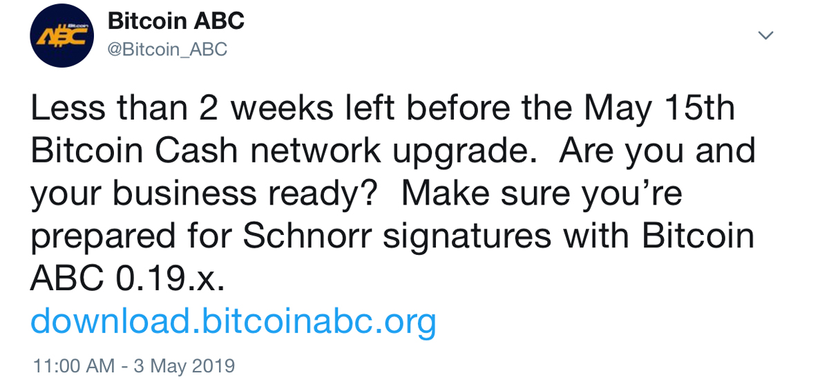 Schnorr Signatures Await Bitcoin Cash as the Next Fork Draws Near