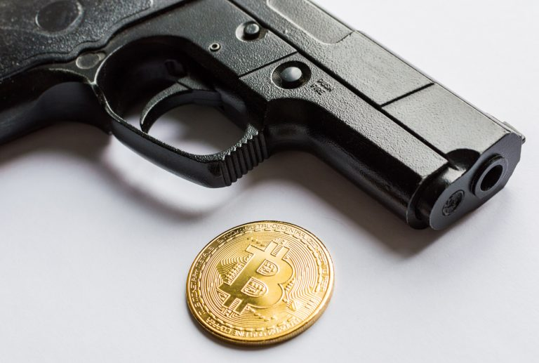 The Guns N' Bitcoin Scorpion Case Holds Your Pistol and Digital Assets