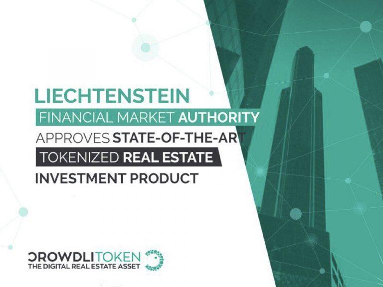 PR: Liechtenstein Financial Market Authority Approves Tokenized Real Estate Investment Product