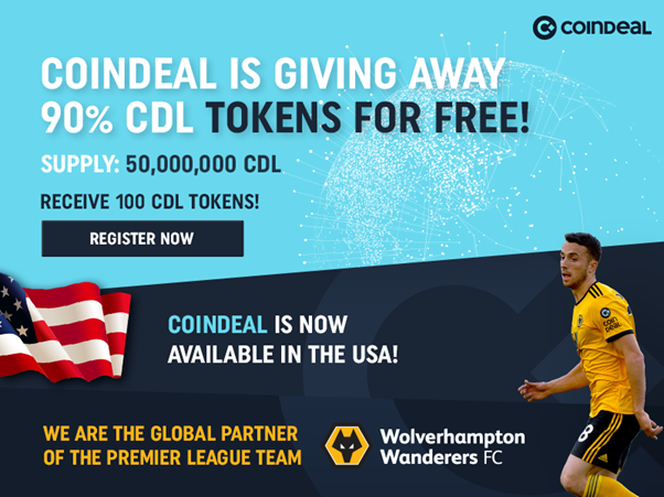 PR: CoinDeal Celebrates Premier League Sponsorship Renewal With Token Launch